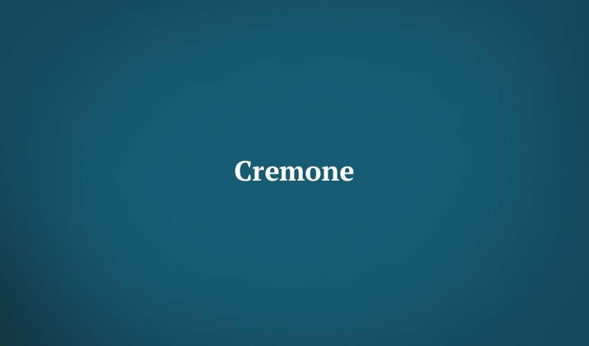 Cremone