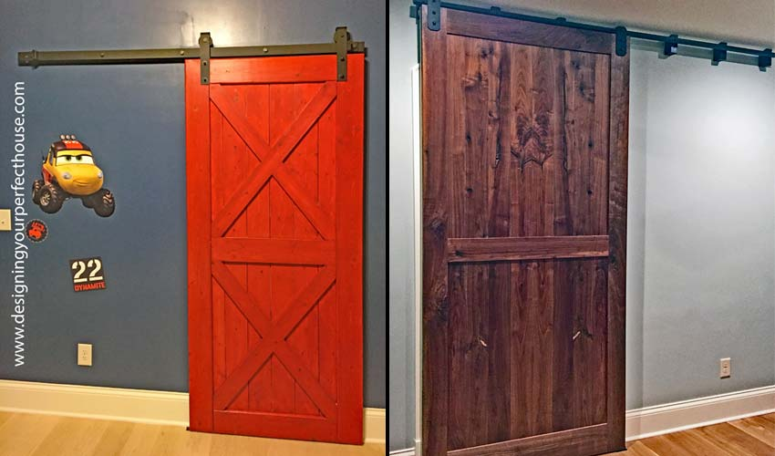 Barn Doors Used in Houses