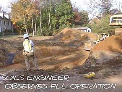 Basement Construction Soils Engineer