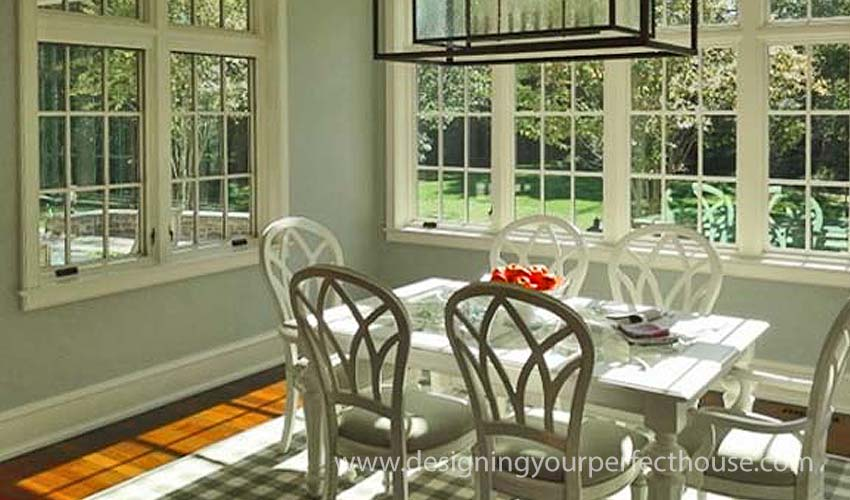 Good Sunroom Design Brings Charm