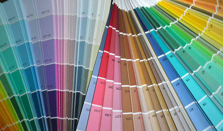 Home Design Color Swatches