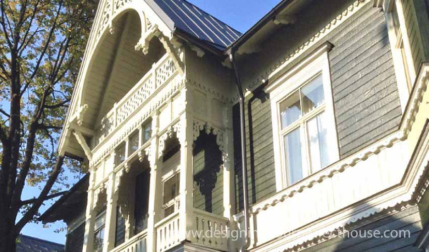 Decprative Latvian Wood Trim
