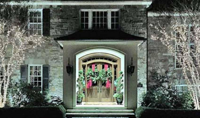 Holiday Entrance Design