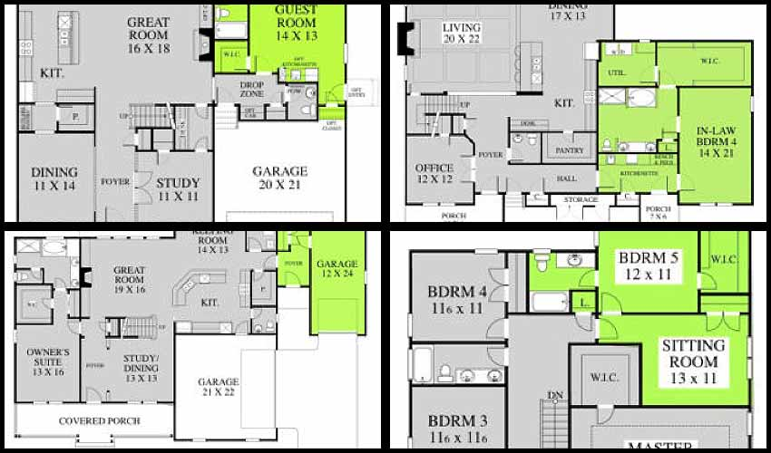 In-Law Suite House Plans