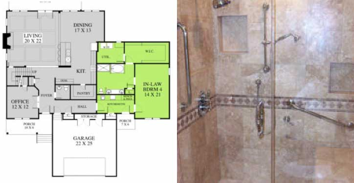 Large In-Law Suite Plans