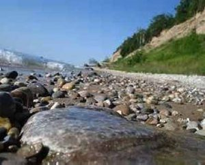 Petoskey Stone Riverbed