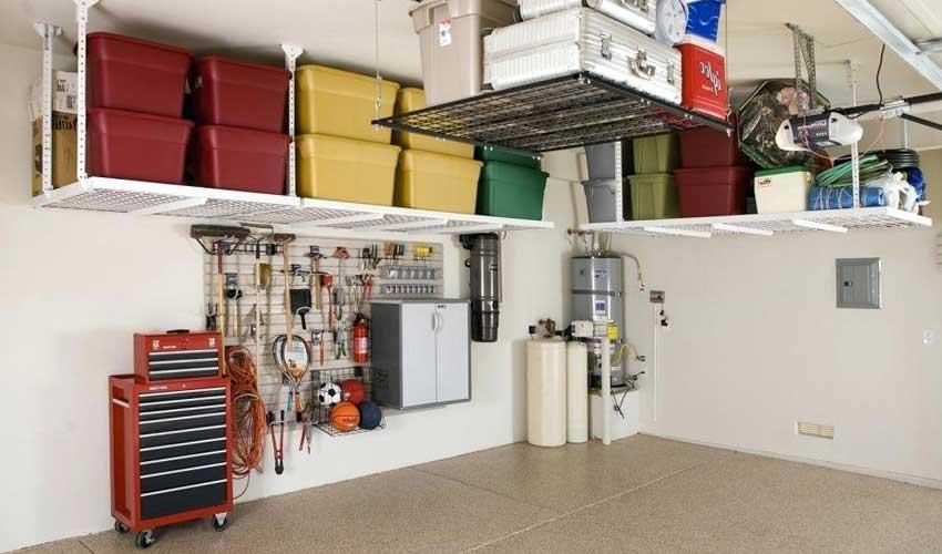 Garage Storage Planning Design