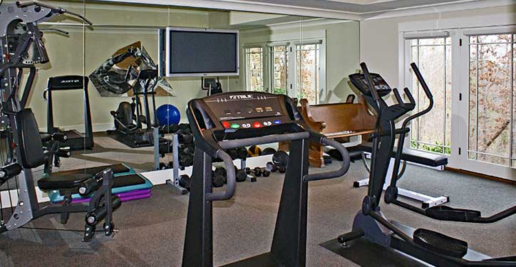 Home Gym Layout