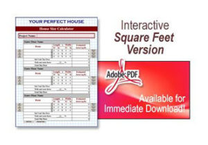 Your Perfect House Size Calculator by Bill Hirsch