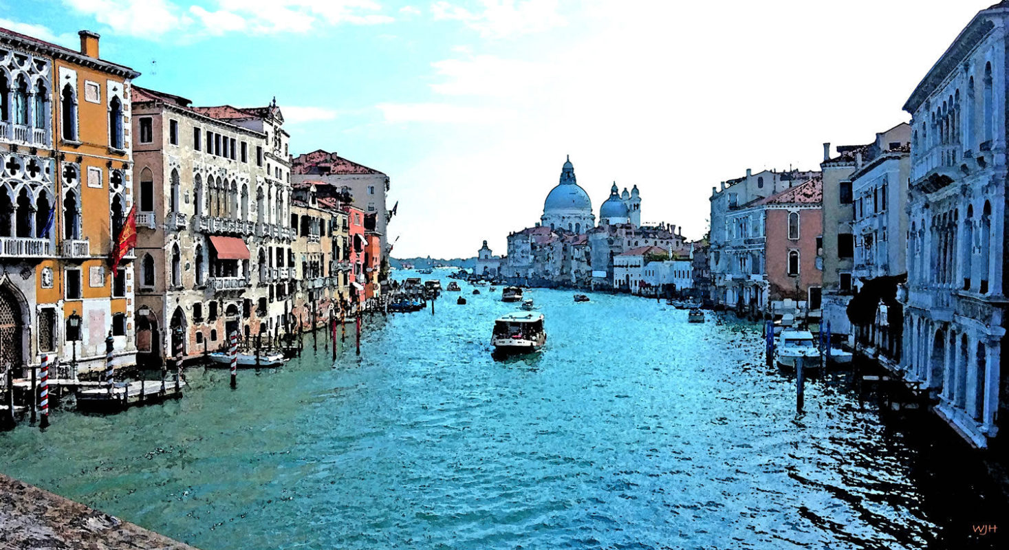 Grand Canal Watercolor
