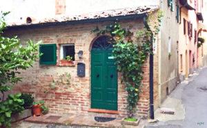 Green Italian Door