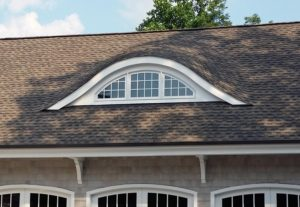 Here is an eye brow dormer over the gararge. It creates space and natural light.